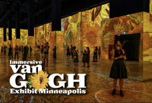 Immersive Van Gogh Exhibit Minneapolis – On Now!