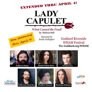 Barefoot Shakespeare Company and CreateTheater's LADY CAPULET Extended