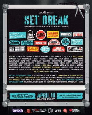 Tom Morello, Old Dominion, Wyclef & Jerry Wonda & More Added To Backline's 'Set Break' Livestream Event