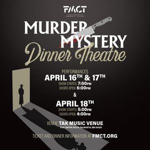 Fargo-Moorhead Community Theatre Presents MURDER IN THE LIBRARY
