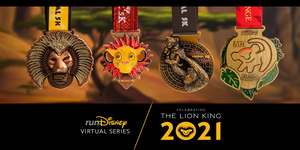 runDisney Hosts THE LION KING Themed Virtual 5Ks This Summer