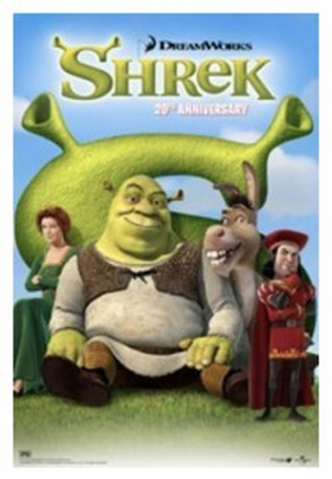 SHREK Celebrates 20th Anniversary in Movie Theaters Nationwide