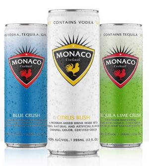 MONACO COCKTAILS in Premium Ready to Drink Varieties