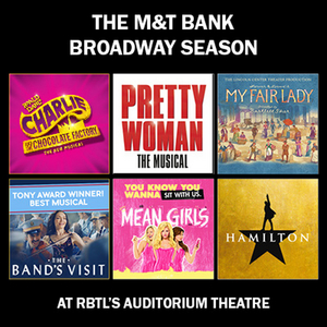 CHARLIE AND THE CHOCOLATE FACTORY, PRETTY WOMAN: THE MUSICAL and More Announced for RBTL's Broadway Season