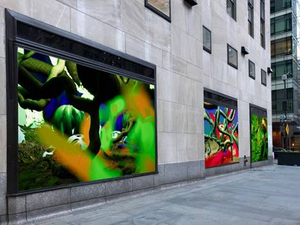 Interactive Digital Art Installation LIFE FORCES to Debut in Rockefeller Center in April
