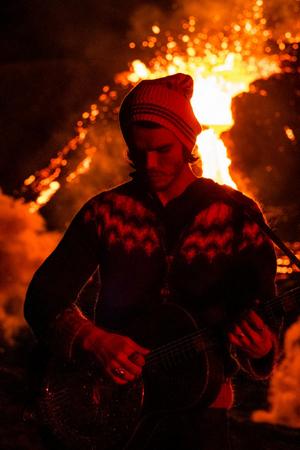 Kaleo Captures Live Performance Video in Front of Erupting Volcano