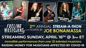 Joe Bonamassa to Host Second Annual Stream-A-Thon This Sunday