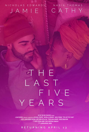 THE LAST FIVE YEARS Virtual Production Starring Nasia Thomas and Nicholas Edwards Has Been Extended
