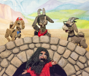THE THREE BILL GOATS GRUFF Drive-In Puppet Show Comes to The Great Arizona Puppet Theater