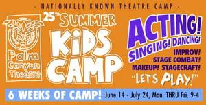 BWW Feature: PCT KIDS CAMP at Palm Canyon Theatre