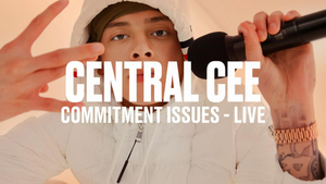 Central Cee Releases Live Performance of 'Commitment Issues'