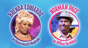 Brenda Edwards, Norman Pace and Alex Bourne Join The Cast of HAIRSPRAY on Tour