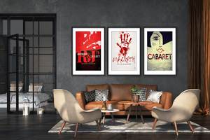 Rejected Broadway Posters Are Being Sold to Benefit Broadway Cares/Equity Fights AIDS