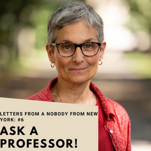 Student Blog: Letters from a Nobody in New York #6: Meet a Professor, Dean Liza Gennaro!