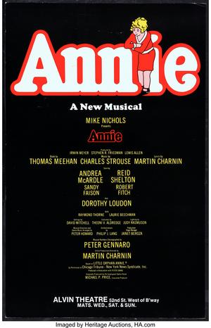 UN DÍA COMO HOY: ANNIE se estrenaba en Broadway