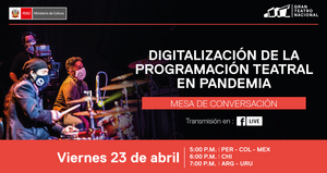 Gran Teatro Nacional Hosts a Panel on Digitalizing Theatre in the Pandemic