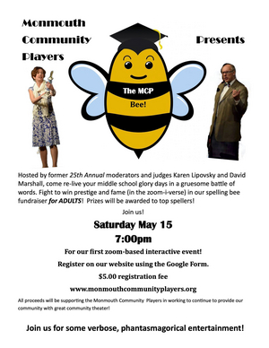 Monmouth Community Players to Host First Annual Adult Spelling Bee