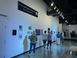 Local High School Students Exhibit Work In Arts Garage Spring Exhibits