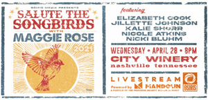 Maggie Rose Brings Her Podcast 'Salute The Songbird' to City Winery Nashville
