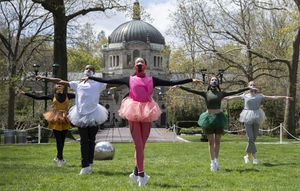 WATCH: NYC Ballet Dancers Perform at the Bronx Zoo For Earth Day