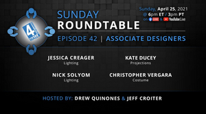 Associate Designers Will Appear on This Week's 4Wall Roundtable