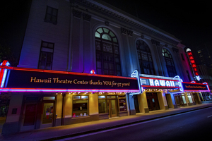 Hawaii Theatre Launches MARQUEE MESSAGES