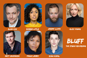 Alex Young, Alan Cox, Ryan Kopel and More to Star BLUFF, a New Musical for Radio