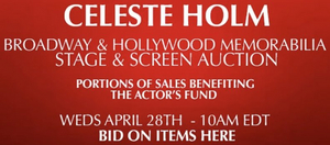 Celeste Holm: Rare Estate Sale Supporting The Actor's Fund