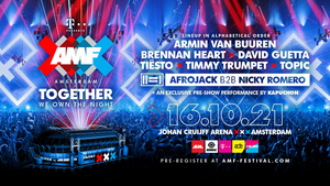 AMF Amsterdam Reveals Lineup for 2021 Edition
