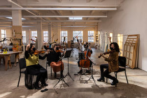 Baryshnikov Art Center And Tippet Rise to Co-Present The Aizuri Quartet In Two Digital Concerts