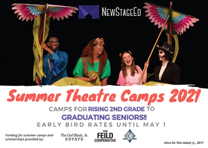 New Stage Theatre Announces In Person 2021 Summer Camps