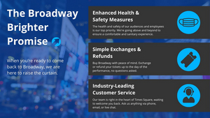 Broadway Brighter Promise Initiative Launched to Ensure a Safe Reopening