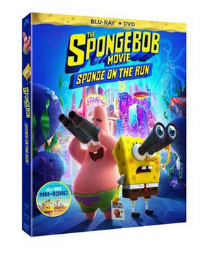 THE SPONGEBOB MOVIE: SPONGE ON THE RUN Arrives on DVD July 13