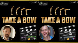 LISTEN: John Bolton and Charlie Alterman Join TAKE A BOW's 50th Episode Celebration