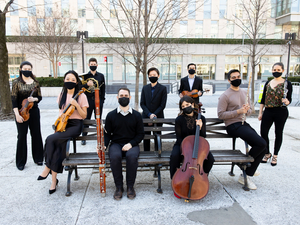 Ensemble Connect to Present Online Performance UP CLOSE: AMERICAN MOSIAC
