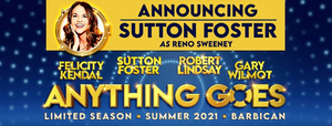 Sutton Foster to Replace Megan Mullally in ANYTHING GOES in the West End