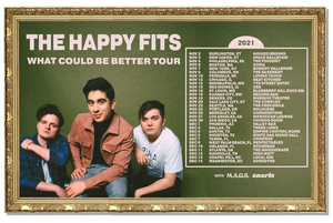 The Happy Fits Announce 31-City 'What Could Be Better' Tour