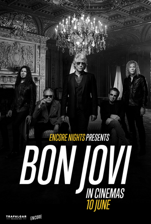 BON JOVI Announce Global Concert Experience Coming to Cinemas This June