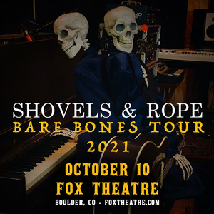 SHOVELS & ROPE Comes to Fox Theatre This Fall