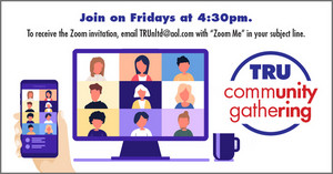 Theater Resources Unlimited Announces Upcoming TRU Community Gathering Via Zoom