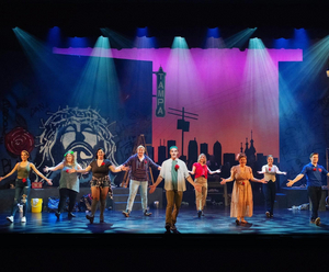 BWW Review: GODSPELL is a Timeless Tale With Unique Staging, and Full of Music to Set Your Soul on Fire at Eight O'Clock Theatre