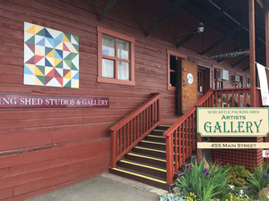 Newcastle Packing Shed Artists Gallery and Olympic Productions featured on Placer Rep's May 27 'LAB' Event