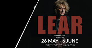 Evelyn Krape Plays Title Role in Melbourne Shakespeare Company's KING LEAR Beginning Tomorrow