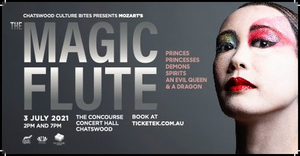 THE MAGIC FLUTE By Mozart Will Be Performed in Chatswood in July