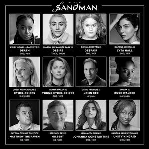Netflix Announces Additional Cast for THE SANDMAN