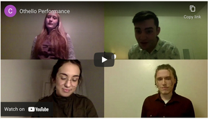 Student Blog: How a Virtual Class on Shakespeare Changed Everything