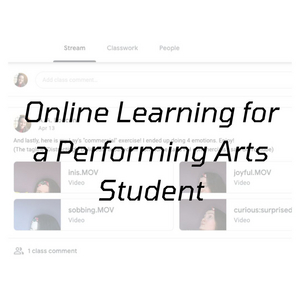 Student Blog: Graduating in a Time of a Pandemic: A Performing Arts Student's Edition