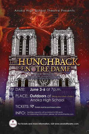 THE HUNCHBACK OF NOTRE DAME Will Be Performed at Anoka Theatre This Weekend