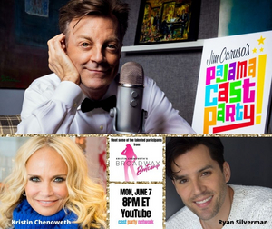 Chenoweth and Silverman Guarantee a Great Episode of JIM CARUSO'S PAJAMA CAST PARTY on June 7th