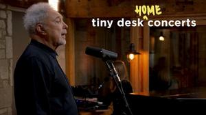 Tom Jones Celebrates His Birthday with NPR Music Tiny Desk (Home) Concert